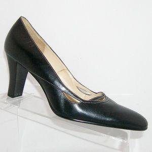 Aerosoles 'Swing a ling' black leather heel 9M